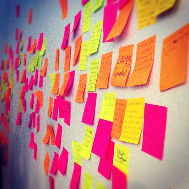 12.5 Sticky Note My World – Kelly McCarthy, Flickr