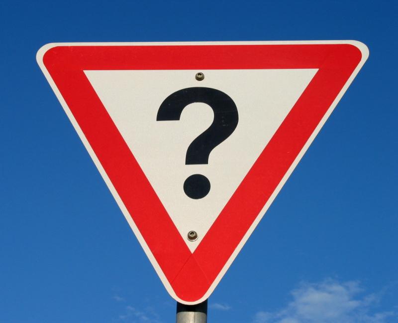 13.6 Question Mark Sign – Colin Kinner, Flickr