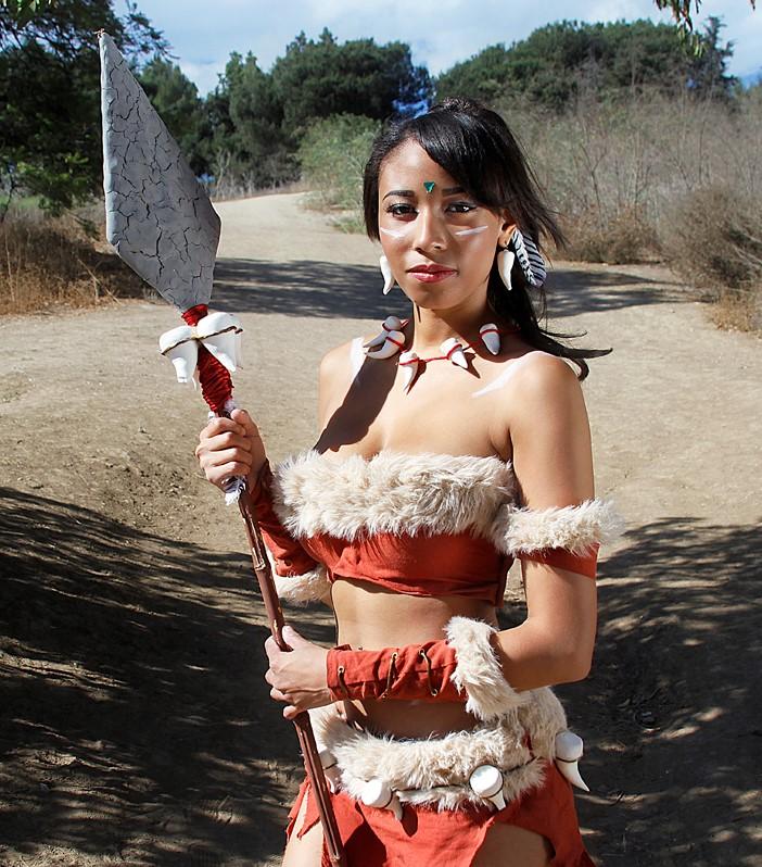 "17.3 Huntress – ""Nidalee – League of Legends,"" V Threepio, Flickr"
