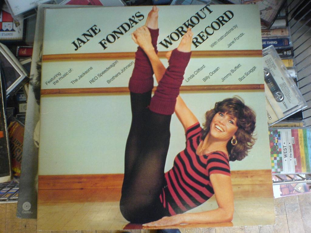 Jane Fonda's Workout Album – Narisa Spaulding, Flickr