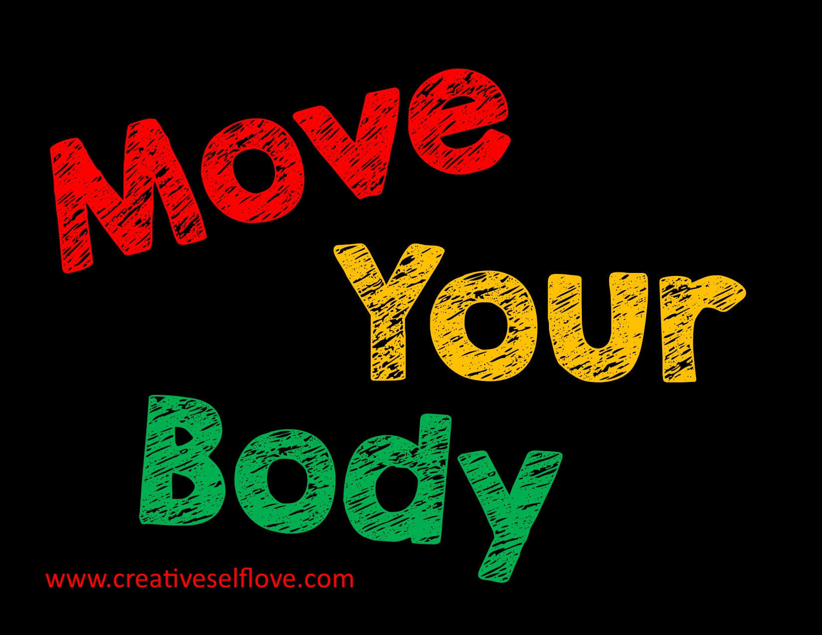 Move Your Body – Graphics by author