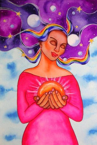 Heart of Healing - Rita Loyd © 2015, www.NurturingArt.com, by permission