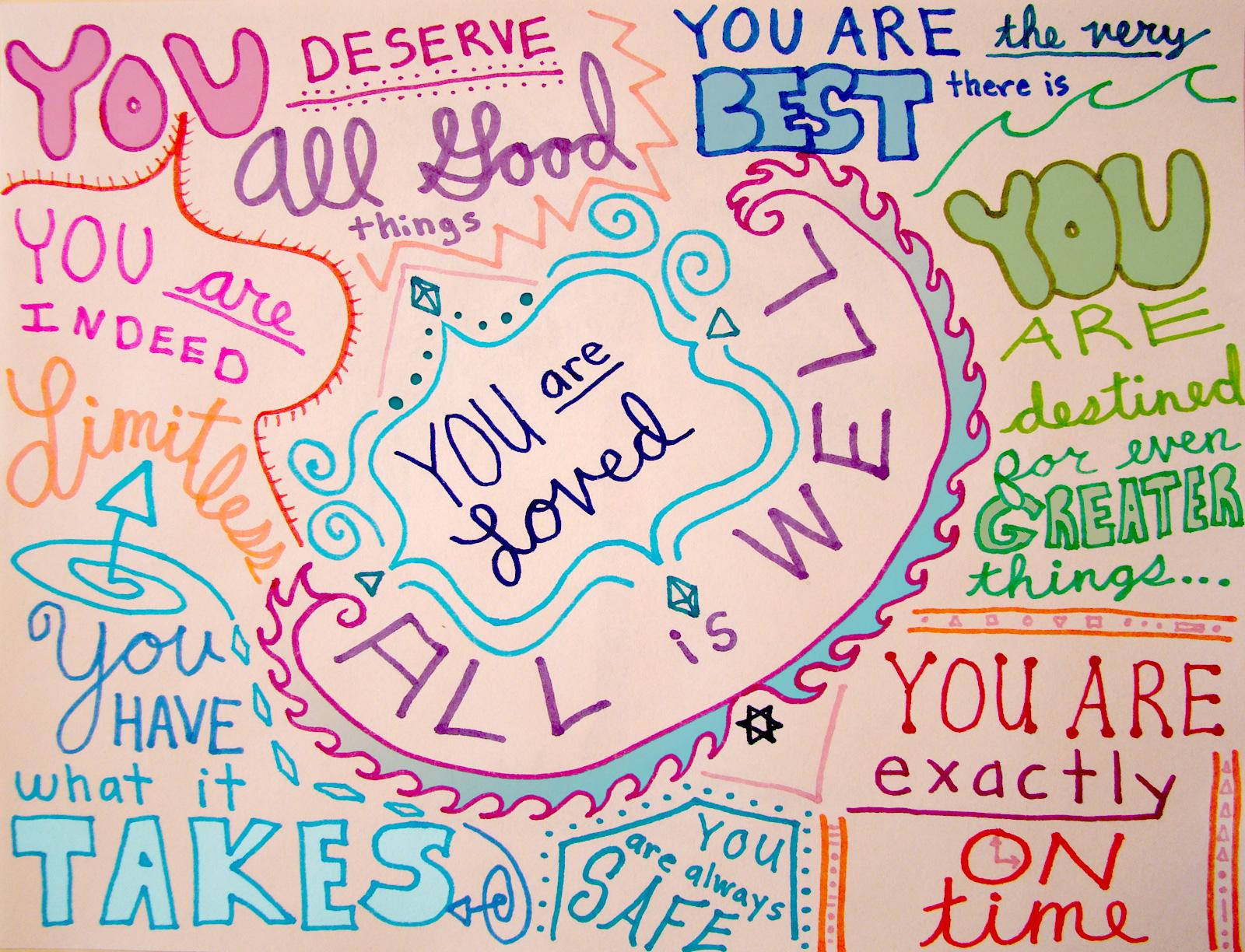You Are Loved – Lauren Lion, Flickr