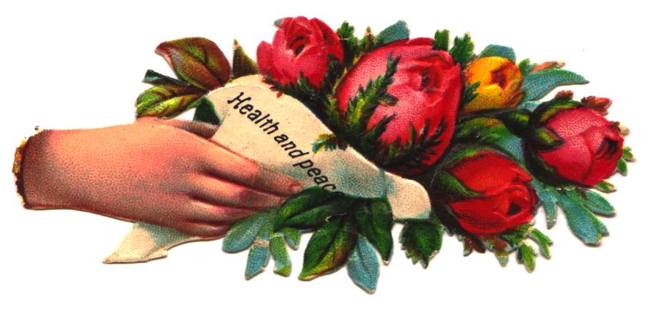 ♥Health and Peace Bouquet - Harvey & Marie Sandburn, Campbell Album, Flickr