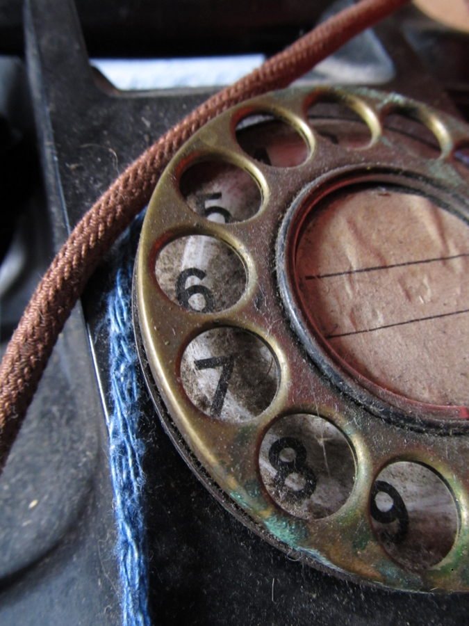 Old Phone Dial – Henry Haines, Flickr