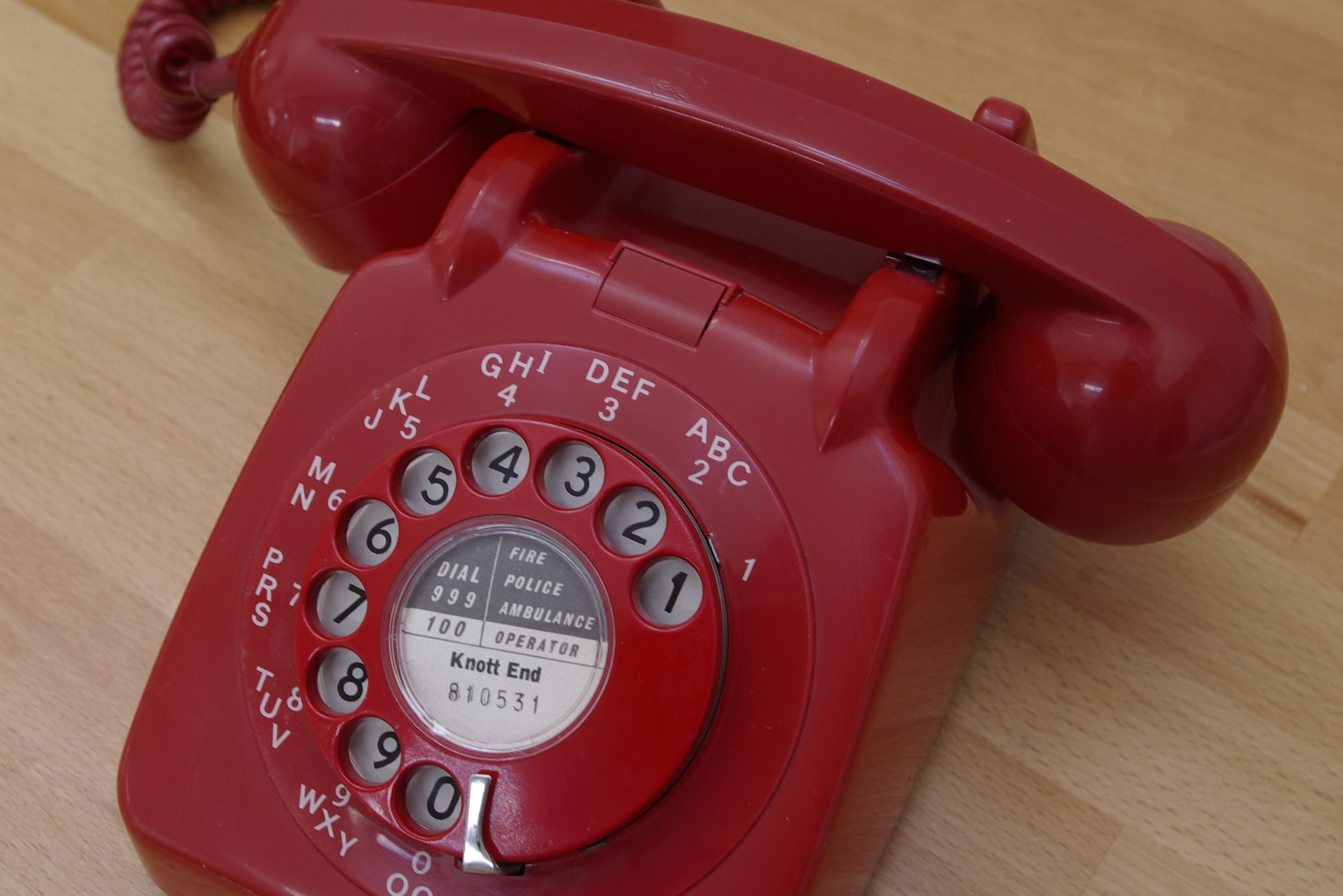 "Old Red Phone – ""Red01,"" David Bleasdale, Flickr"