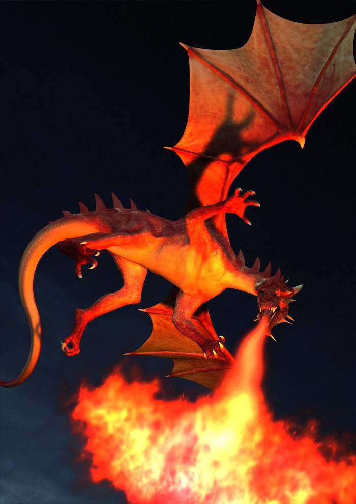 "Fire-Breathing Dragon – ""Red Dragon,"" Syndaryl, Flickr"