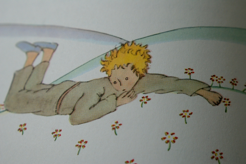 "The Little Prince – Illustration by Antoine de Saint-Exupery, ""The Little"