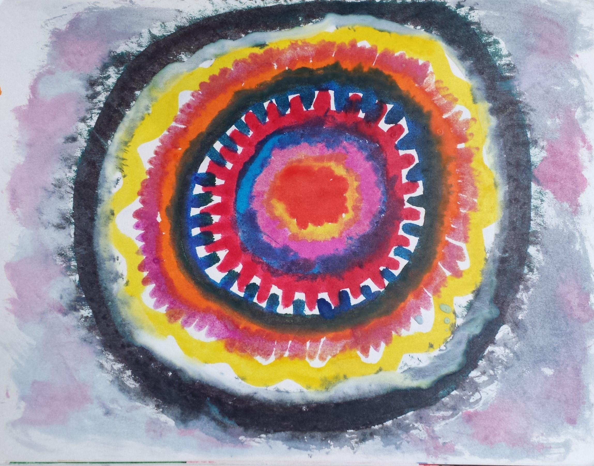 8.5 Anger Mandala – Artwork by author