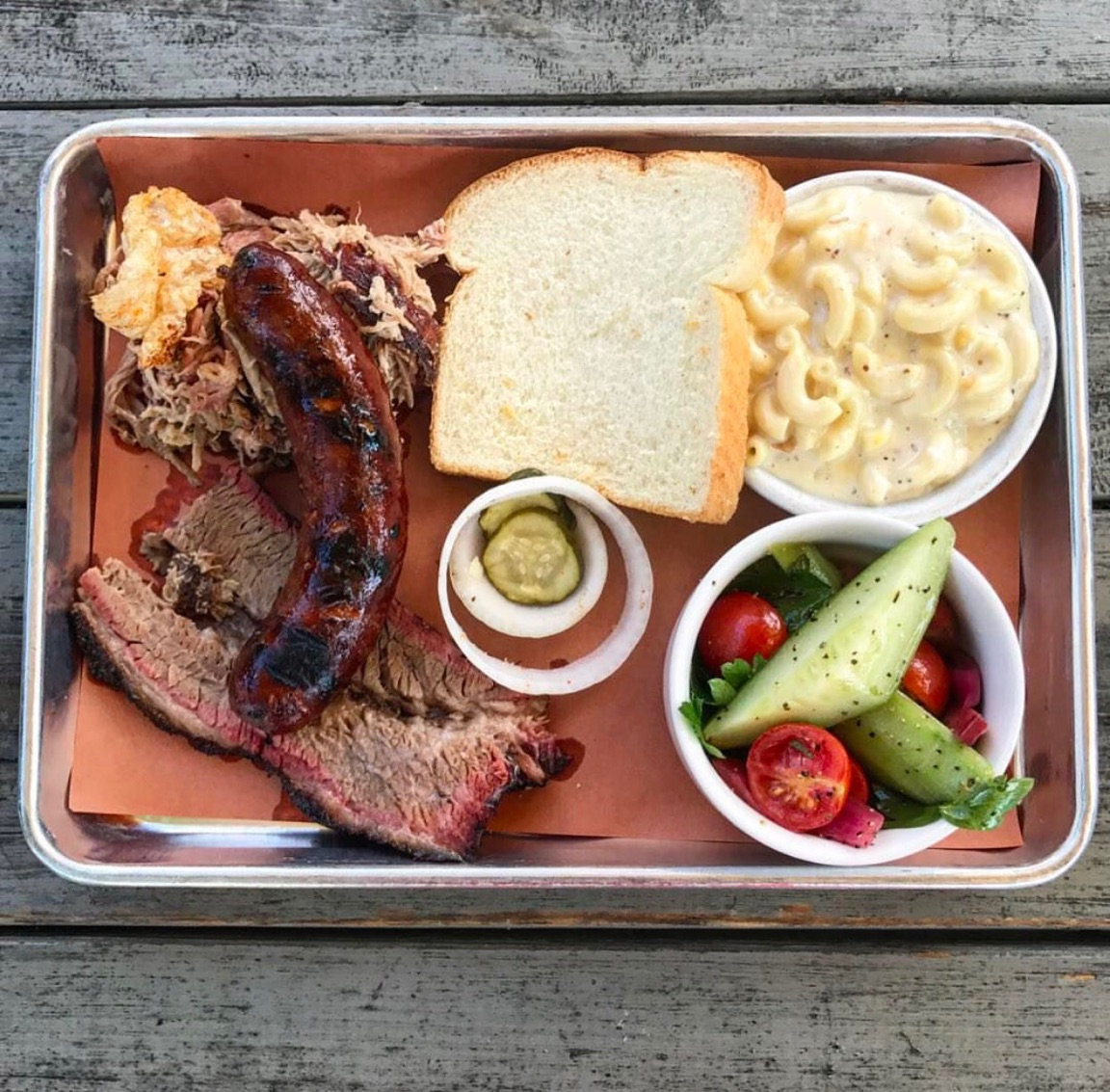 """While their BBQ is pretty damn good, you must try their alcoholic beverage, """"The Game Changer""""....it will get the job done quickly and you will like it."""