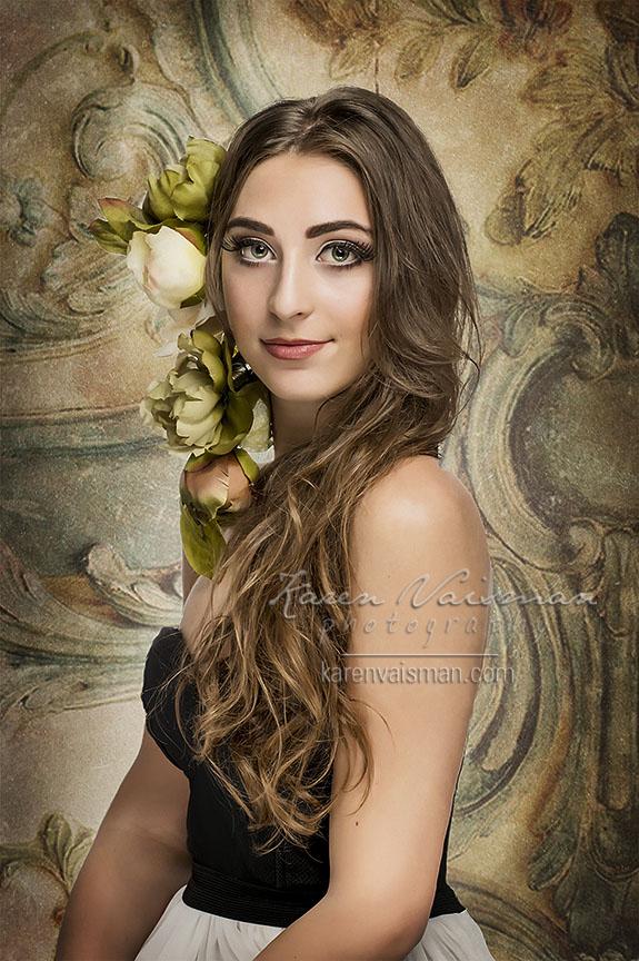 Romantic Glamour Portrait