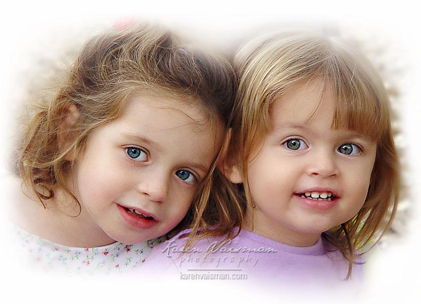Cuddling Sisters! Agoura Hills - Karen Vaisman Photography