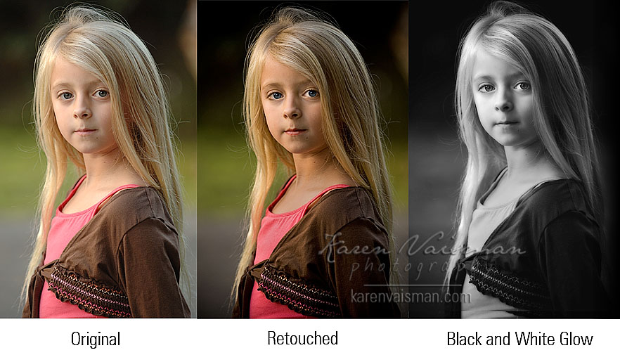 Artistic Retouching Speaks Volumes - When an Artist's Touch is What Your Portrait Needs....