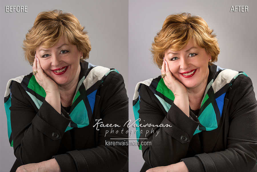 An Artistic Retouched Portrait Helps the Beautiful You Sparkle Even More! - Calabasas - Karen Vaisman Photography