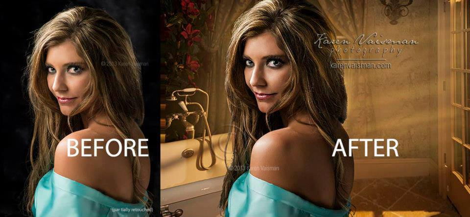 Before and After Boudoir Beauty - Thousand Oaks