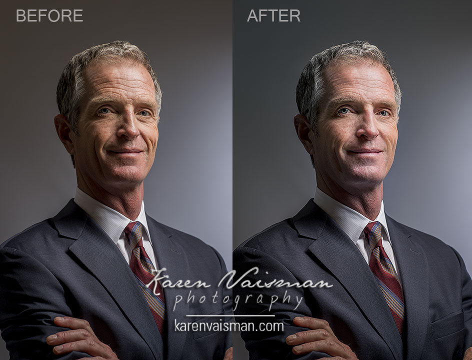 Retouching Adds Polish - Corporate Headshot - (818) 991-7787 - Karen Vaisman Photography - Agoura Hills, CA