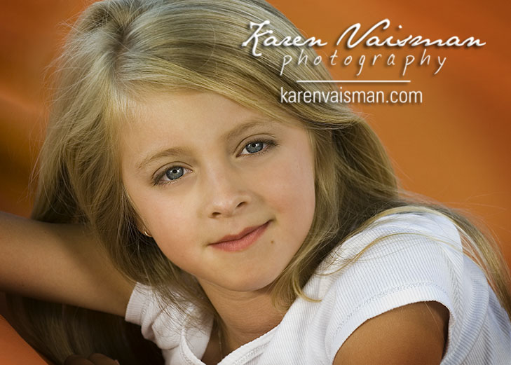 Children's Headshots - Be Discovered!  Calabasas Head Shot Photographer - Karen Vaisman Photography  (818) 991-7787
