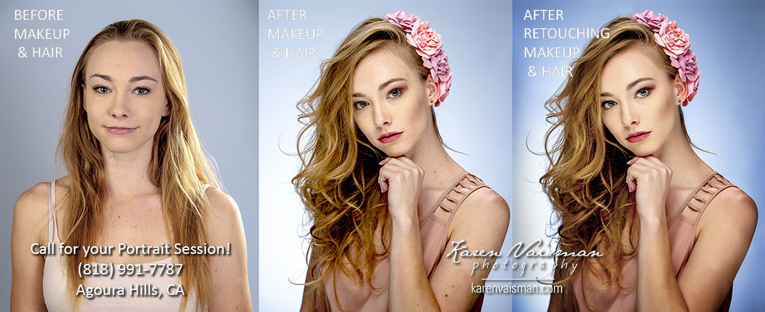 Want a Makeover? You Deserve to Feel Beautiful! (818) 991-7787 Thousand Oaks - Karen Vaisman Photography