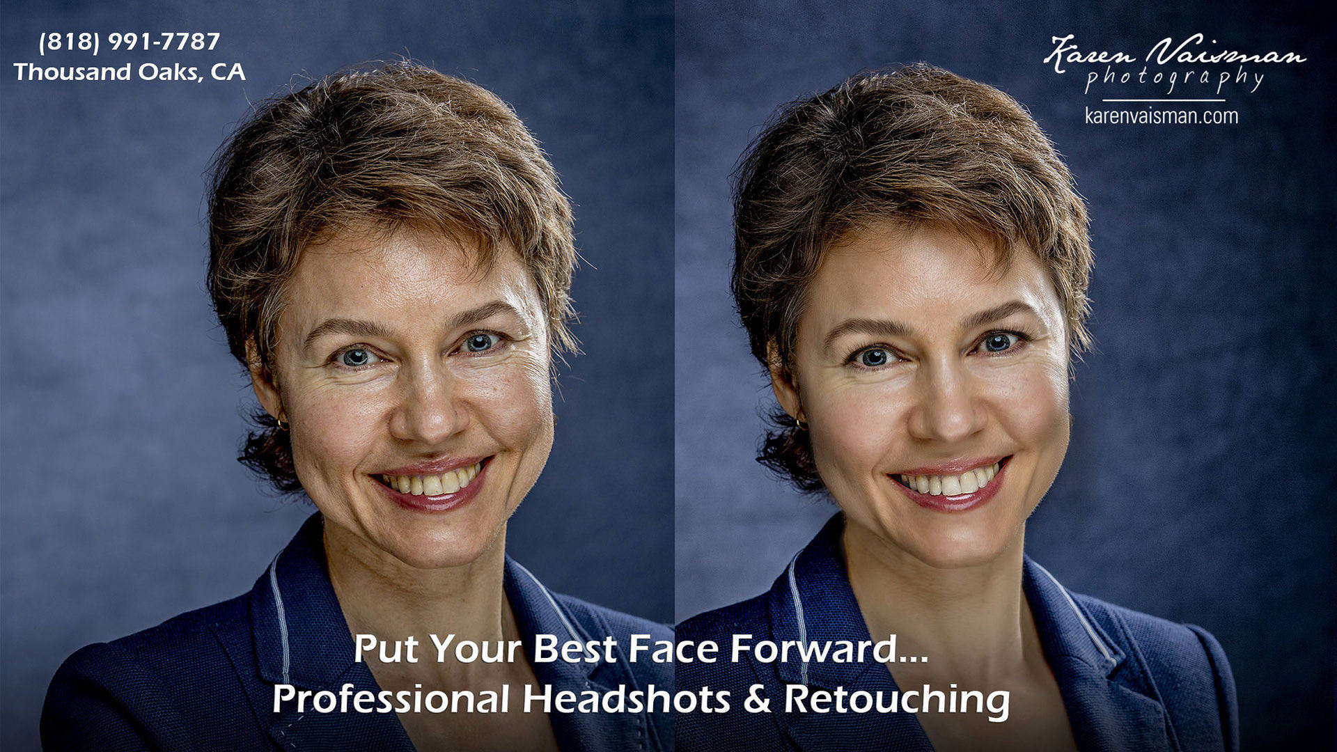 Professionally Retouched Corporate Headshot