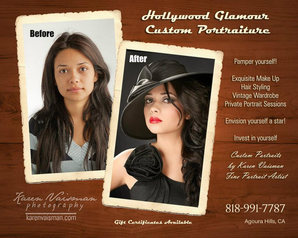 Before and After - Makeup Artists - Hair Stylists -  Professional Retouching
