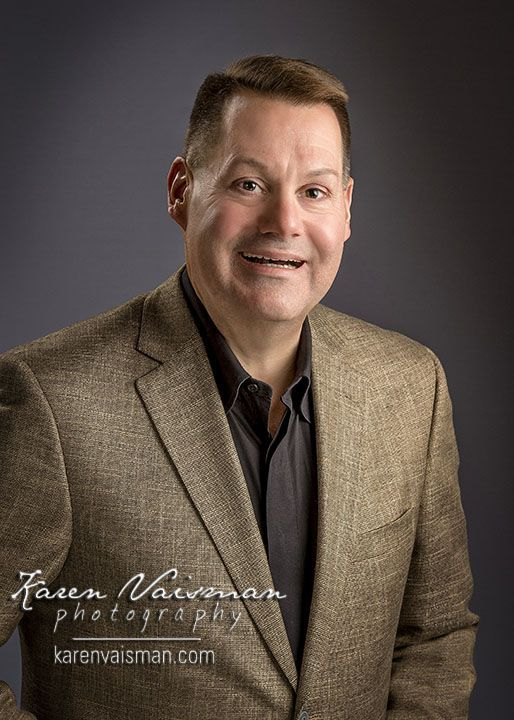 Gary Was So Excited About HisRetouched Professional Headshot - See Gary's Testimonial Video…Another Happy Client!