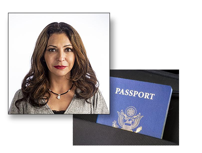 Professional Studio Quality Passport Photos - Shot in Agoura Hills Studio - Printed in 1 - Hour