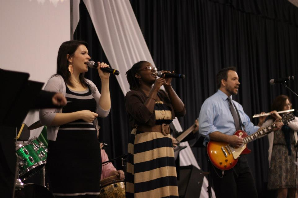 Easter Service 2013.