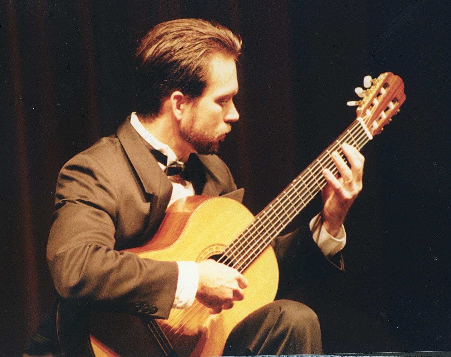 Performing at Huntington College.