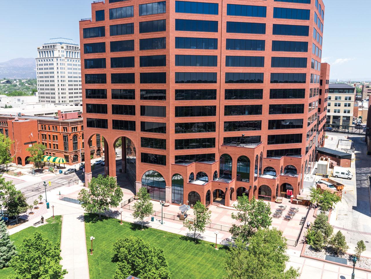 Plaza of the Rockies-Colorado Springs, Colorado   Office Building - 13 Story, 280,000 square feet