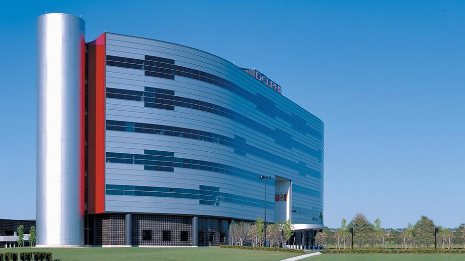 Delphi Automotive-Troy, Michigan    Office Building - 107,000 square feet