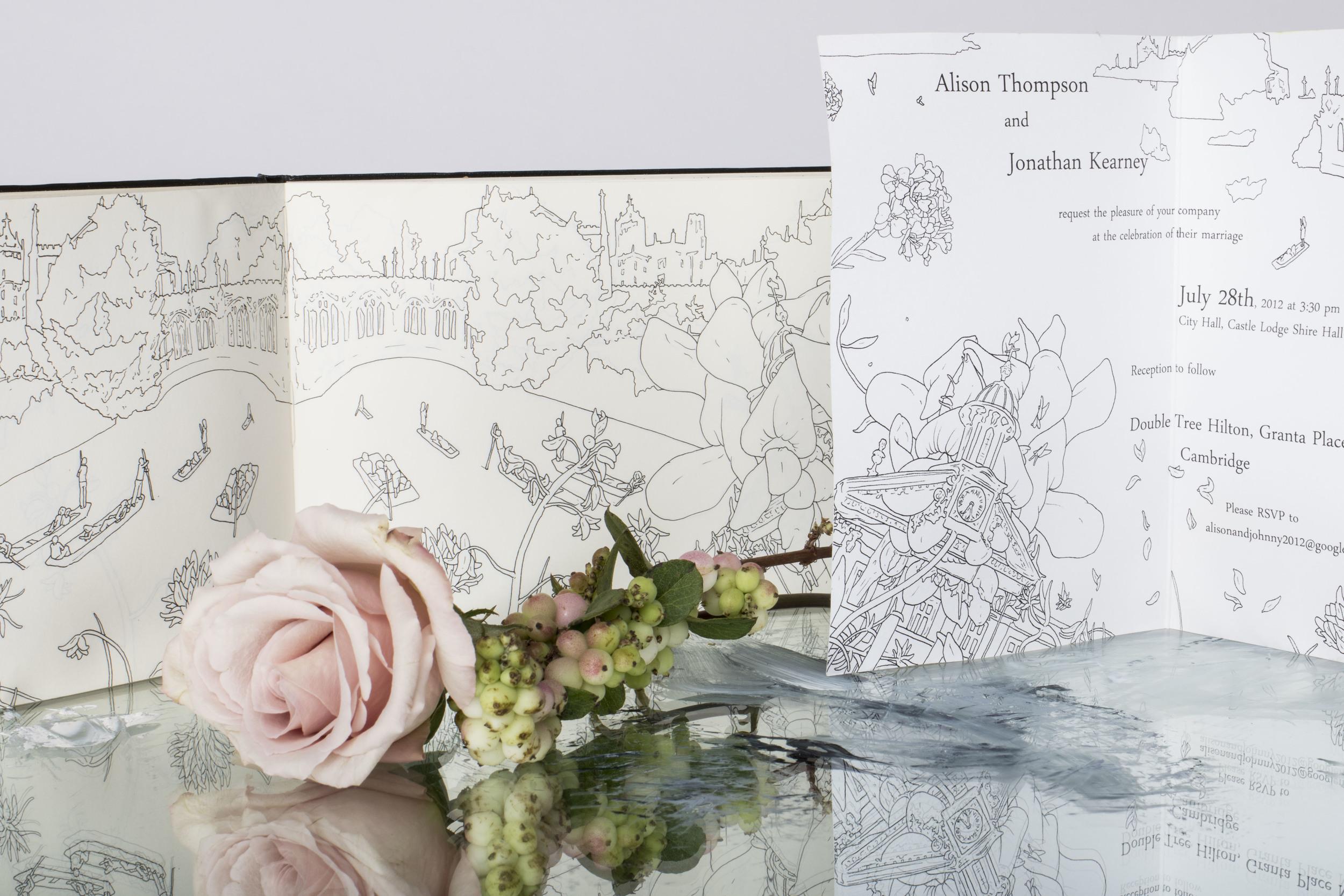 Alison and Johnathon's wedding