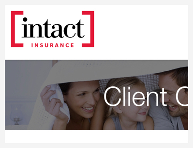 Insured with Intact? Track your claim online. - Intact now has a client portal that allows clients to register and track their claims process