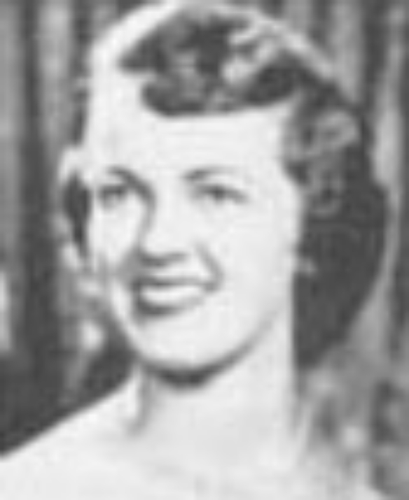 """Jane Bostic  Miss Idaho 1953  Hometown: New Plymouth  Talent: Vocal """"All the Things You Are"""""""