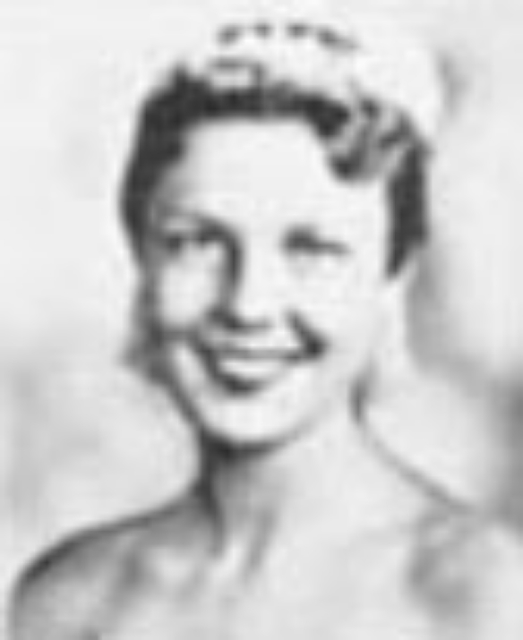 """Gail Rupp  Miss Idaho 1956  Hometown: Pocatello  Talent: Vocal """"One Kiss"""" from The New Moon"""