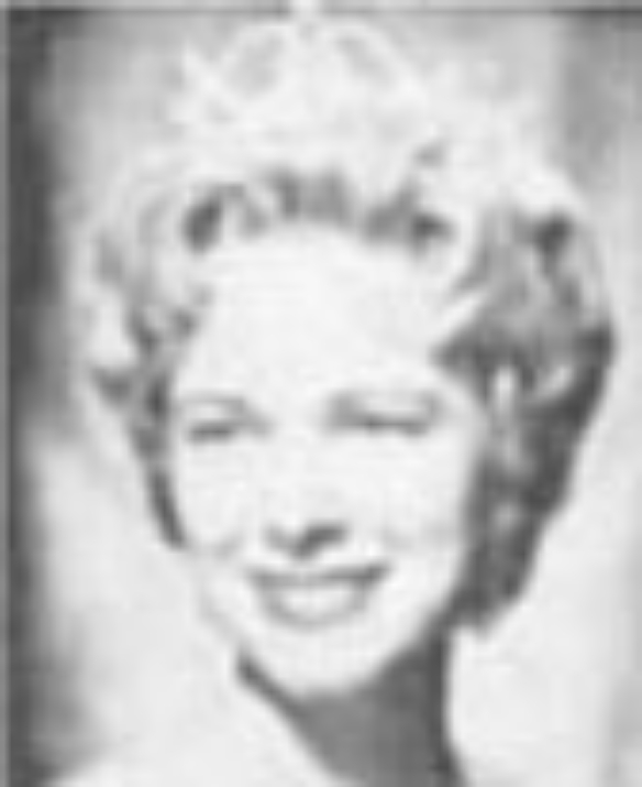 """Marlene Coleman  Miss Idaho 1960  Hometown: Pocatello  Talent: Vocal """"If I Were On the Stage""""  Miss America Awards: Top 10"""
