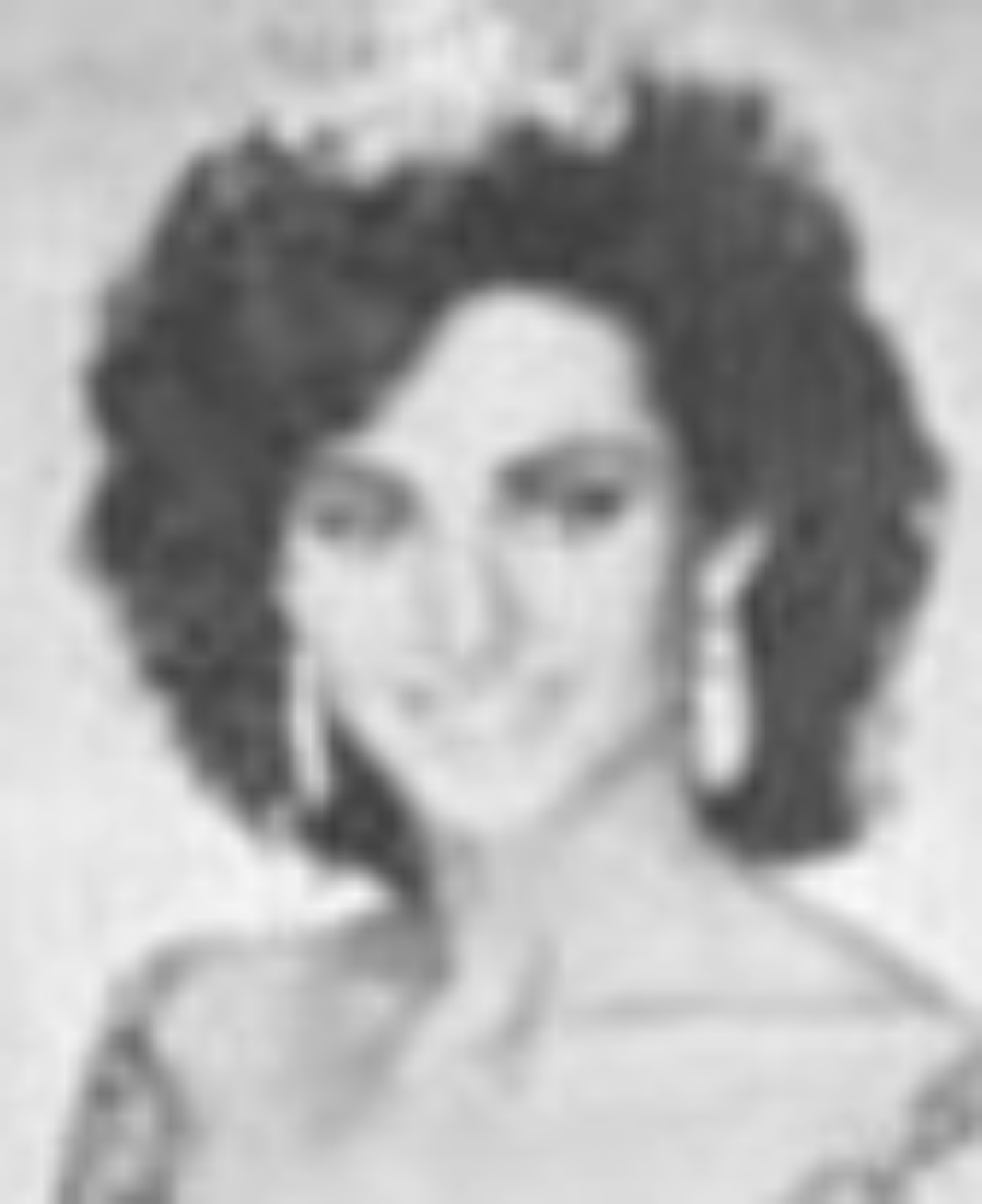 """Holly Hill  Miss Idaho 1987  Hometown: Meridian  Talent: Vocal """"The Music and the Mirror"""" from A Chorus Line"""
