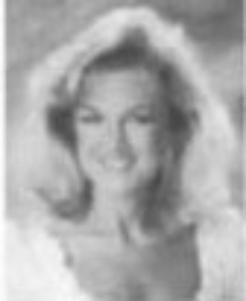 "Rebecca Trueblood  Miss Idaho 1989  Hometown: Caldwell  Talent: Vocal ""God Bless the USA""  Miss America Awards: Non-finalist Interview Award"
