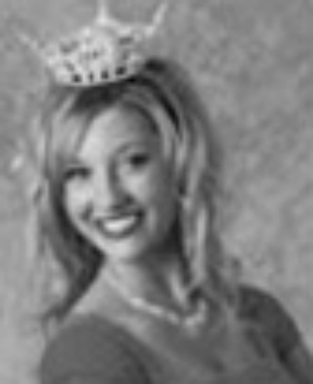 "Katherine Crouch  Miss Idaho 2006  Hometown: Rexburg  Talent: Piano ""Un Sospiro"""