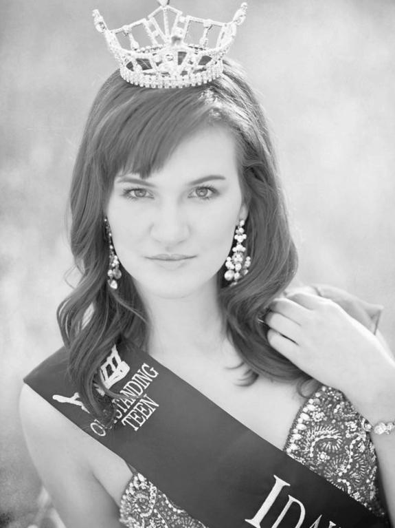 Melanie Ross Miss Idaho's Outstanding Teen 2011