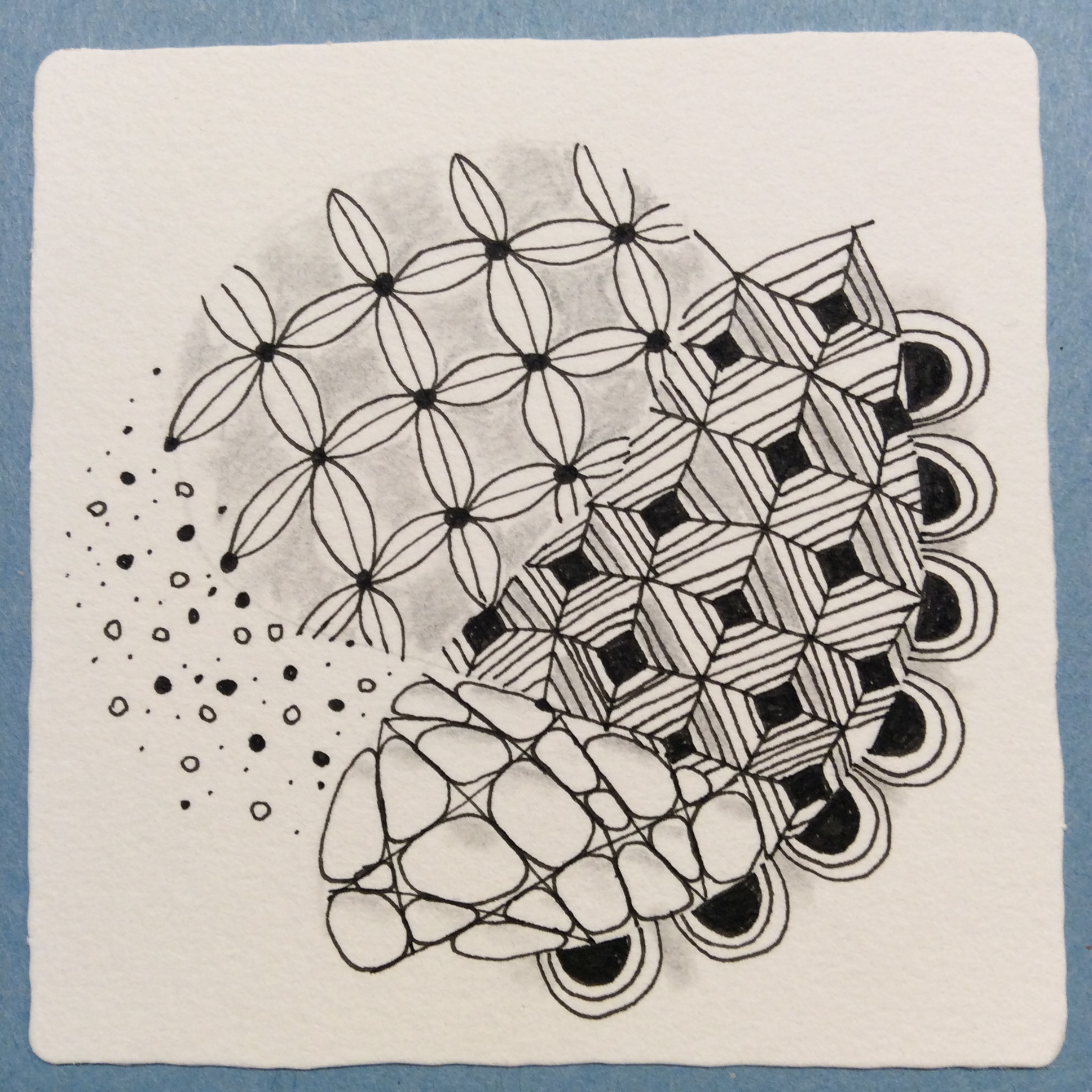 Zentangle with friends.JPG