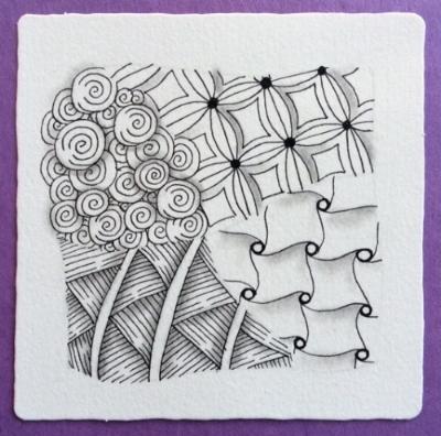 Zentangle tile by Nancy Domnauer CZT - Copy.jpg