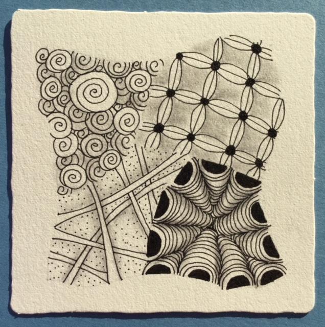 A Basic Zentangle Tile July 2018.jpg