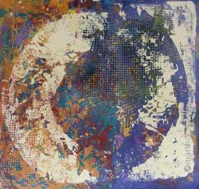 """14. Lace Iris #2  (unframed) 16""""x18"""" $450"""