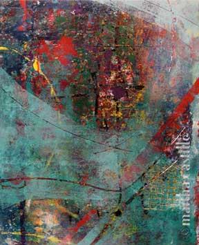 "5. First Frost  (gallery wrap, unframed) 20""x16"" $480"