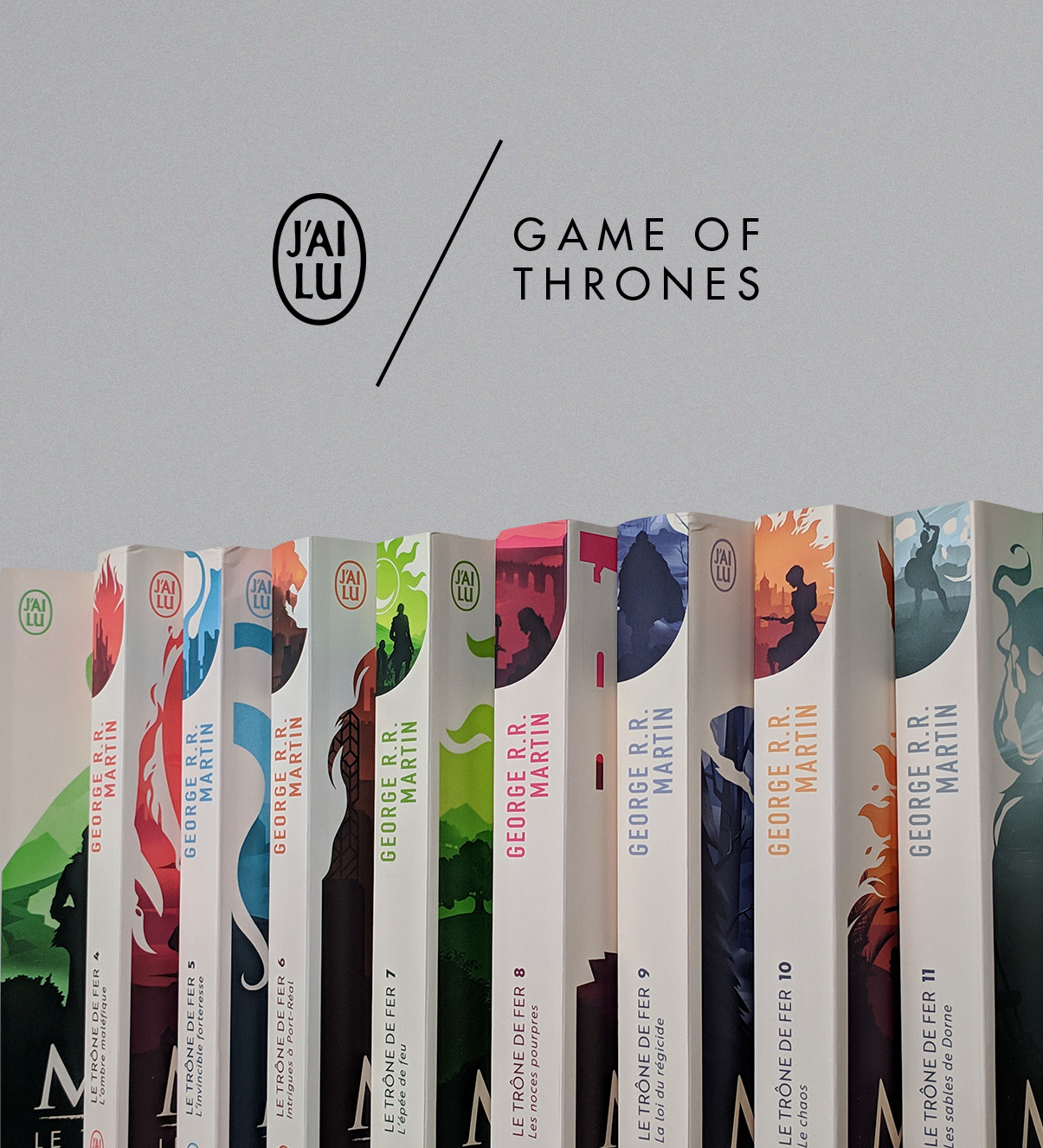 Game of Thrones Book Covers — JEFF LANGEVIN