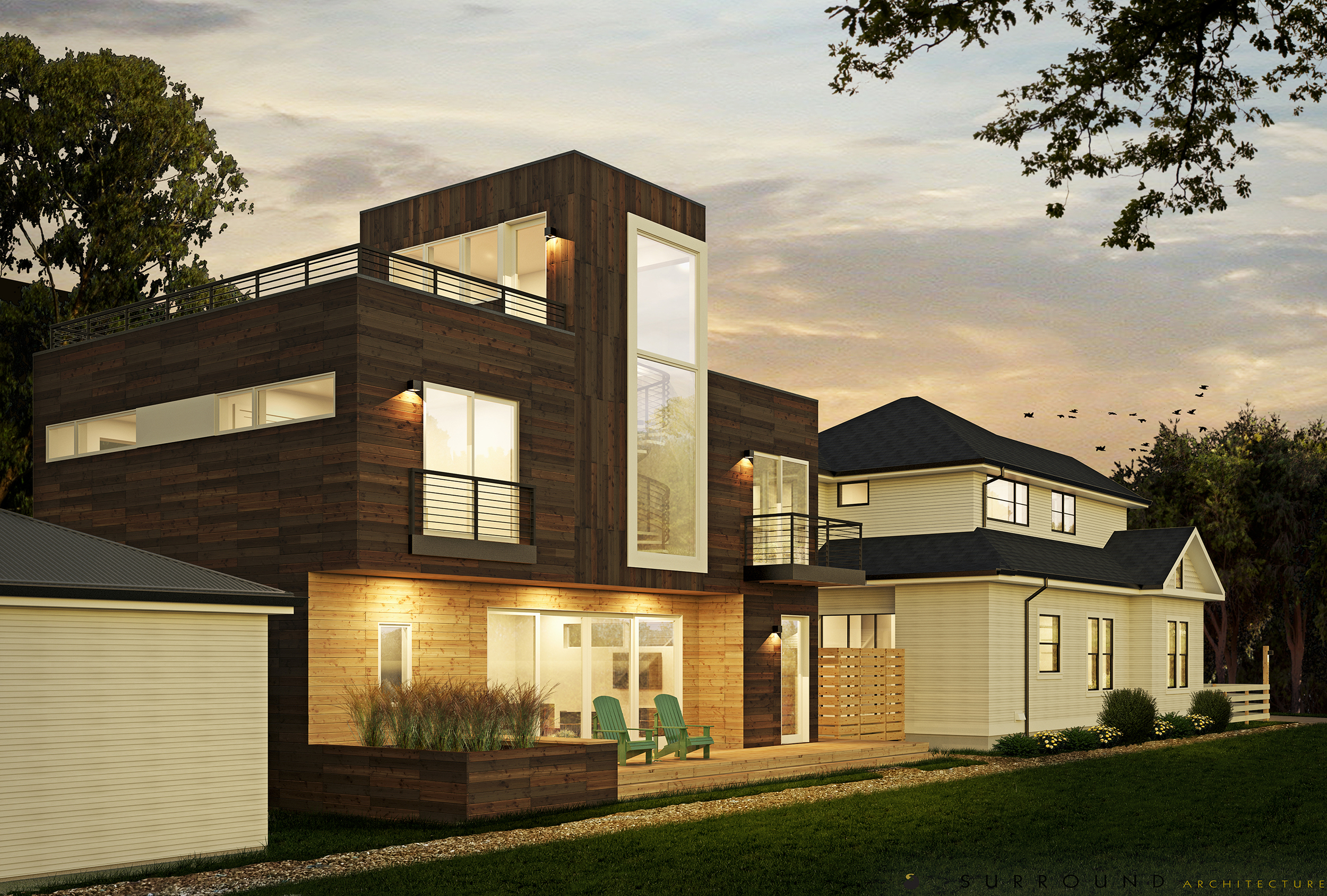 Rendering - NW View