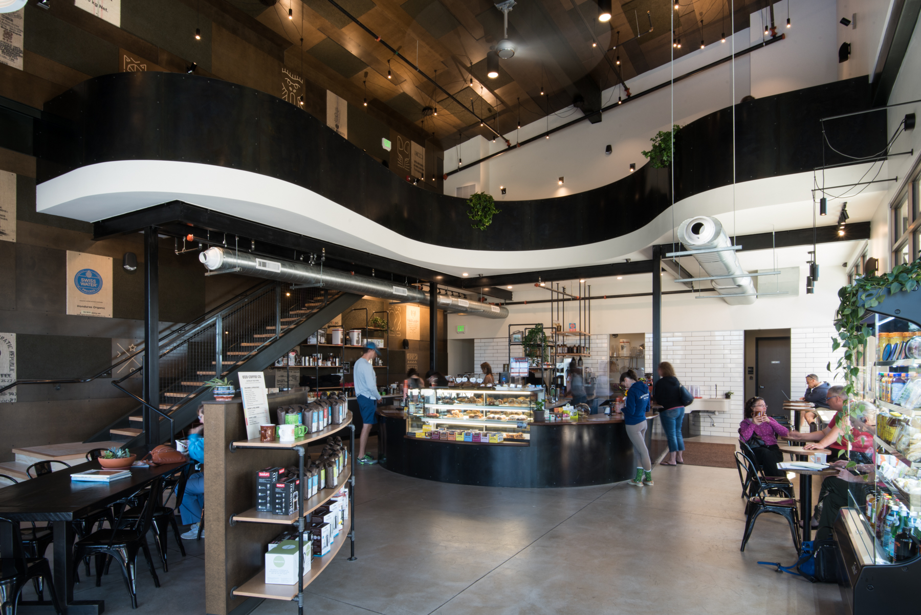 Ozo Coffee's new location at Village at the Peaks in Longmont