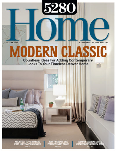 5280 Home - Fall 2013 - Cover - Little Alpine - Surround Architecture