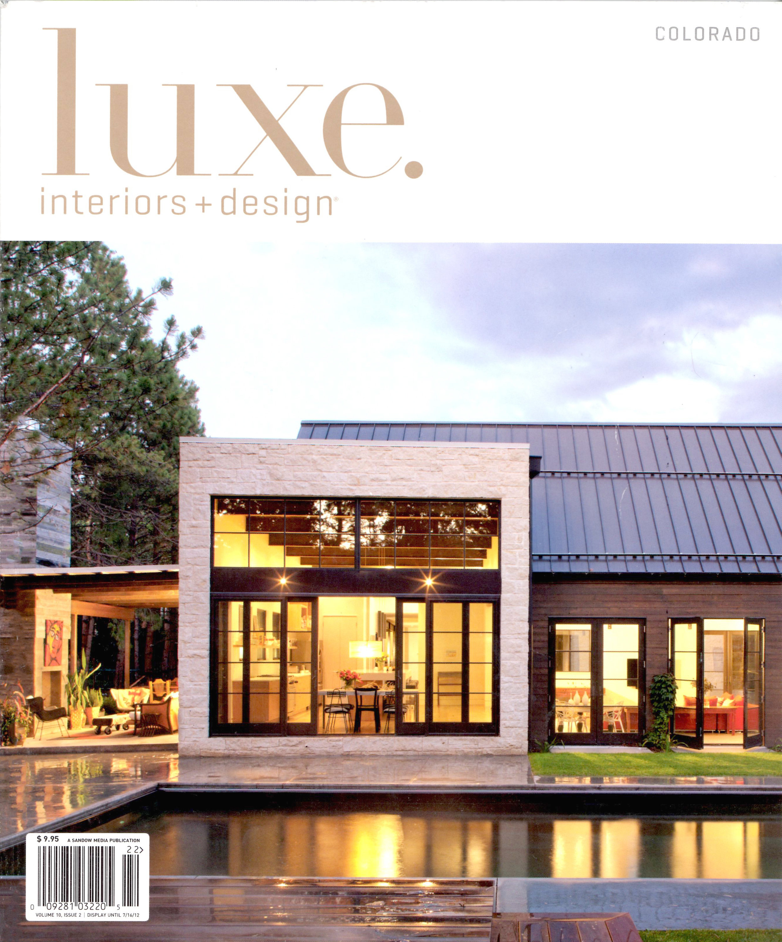 Luxe Colorado - Spring 2012 - Cover - Folly Farm