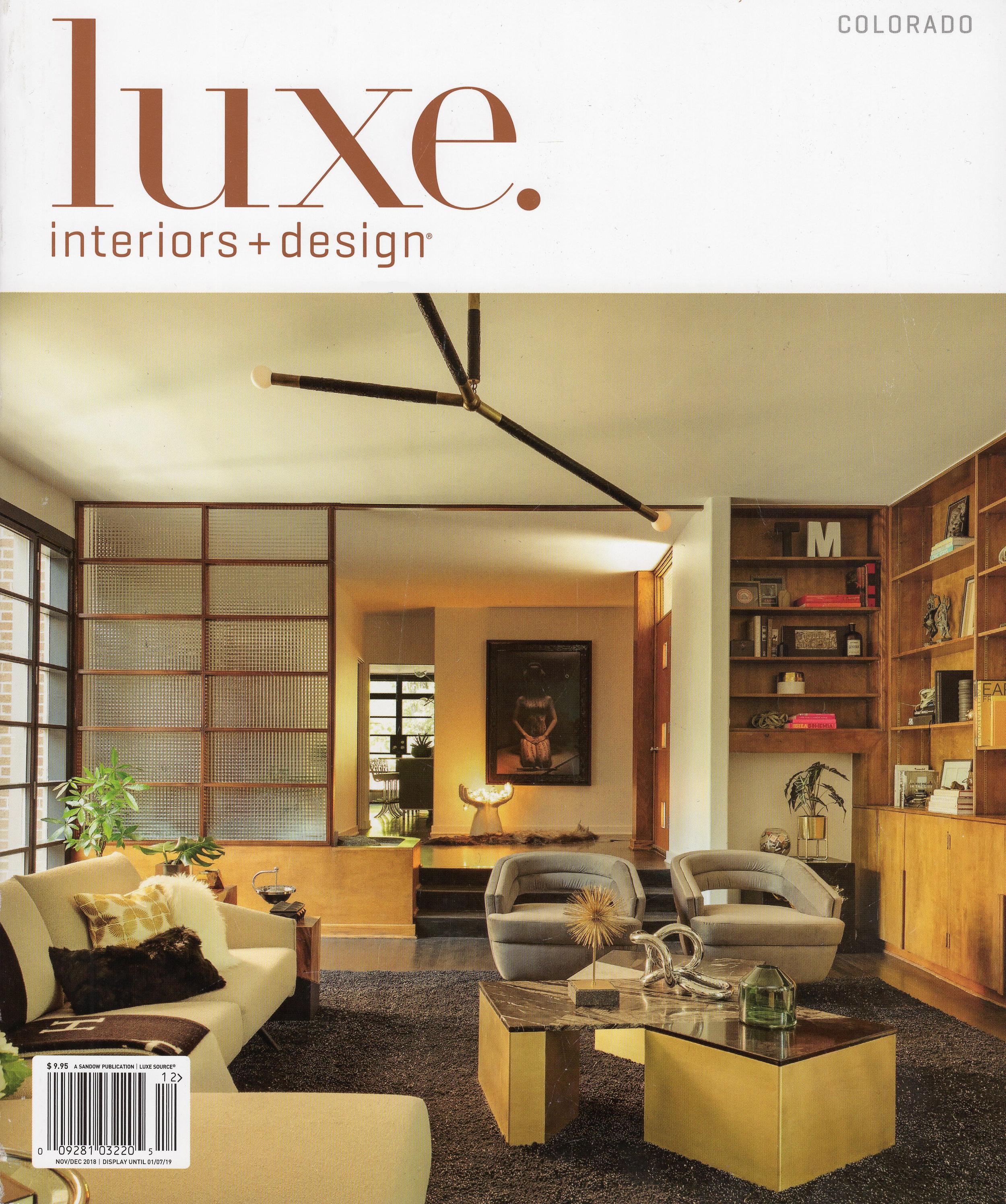 Luxe Magazine - Colorado - Nov 2018 - Surround Architecture